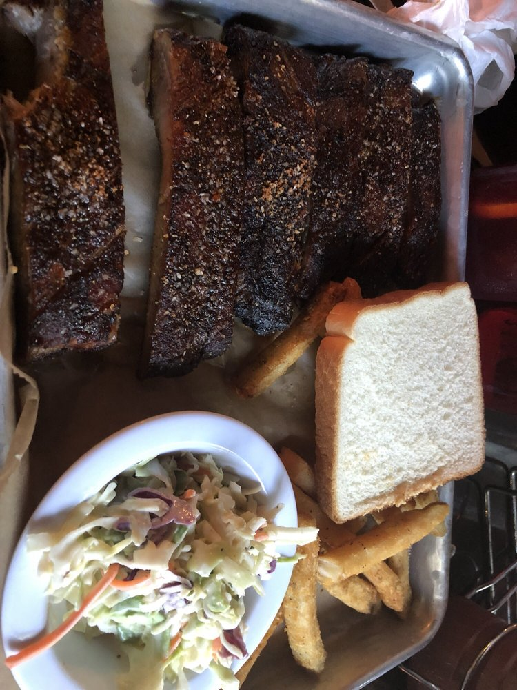 Food from Smoke Bourbon and BBQ