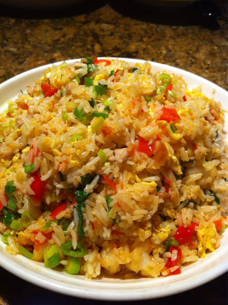 Photo of O'mei Restaurant - Santa Cruz, CA, United States. Chili Fried Rice