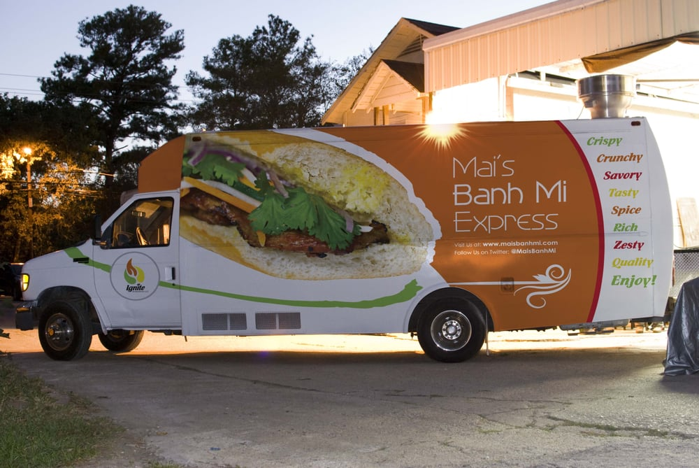 Mai's Banh Mi Express: Houston, TX