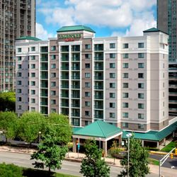 Photo Of Courtyard By Marriott Jersey City Newport Nj United States Hotel Exterior