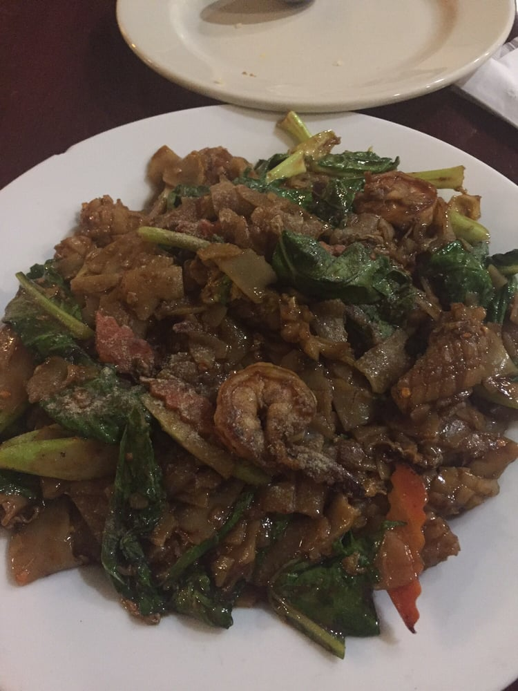 Pad see ewe yelp for At siam thai cuisine