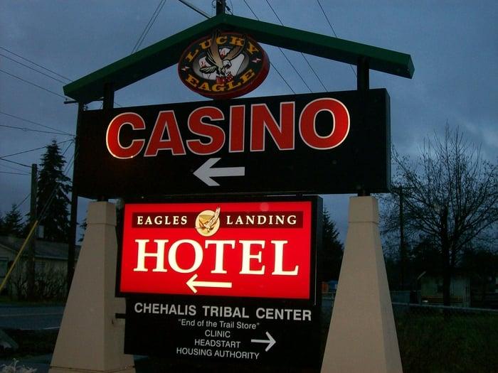 Lucky eagle casino rochester washington
