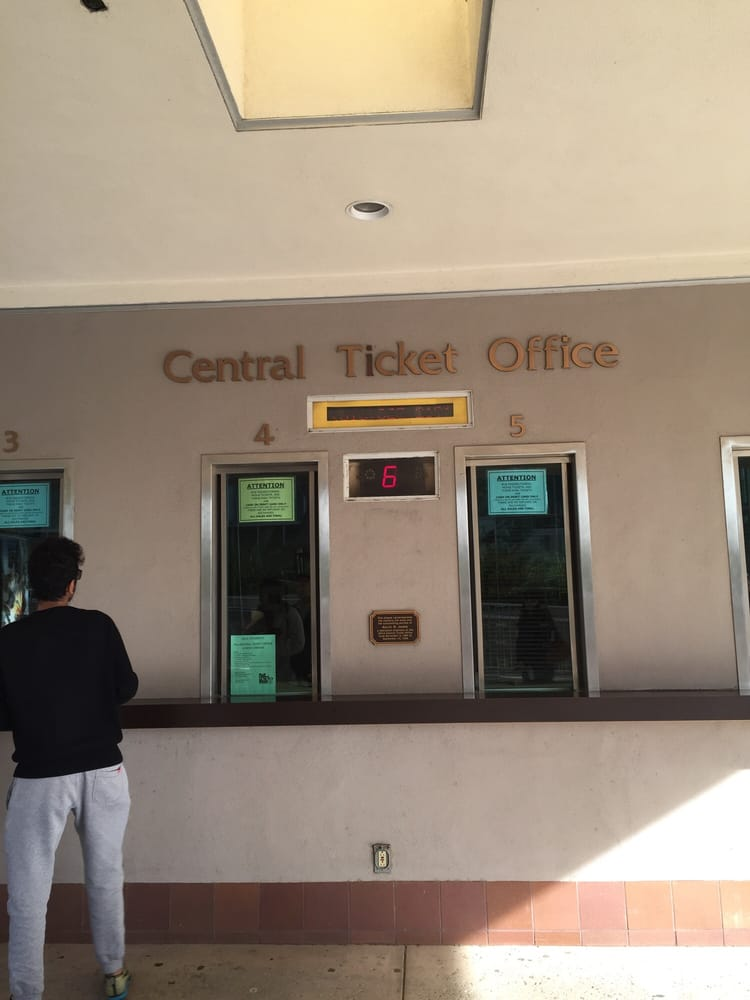 UCLA Central Ticket Office