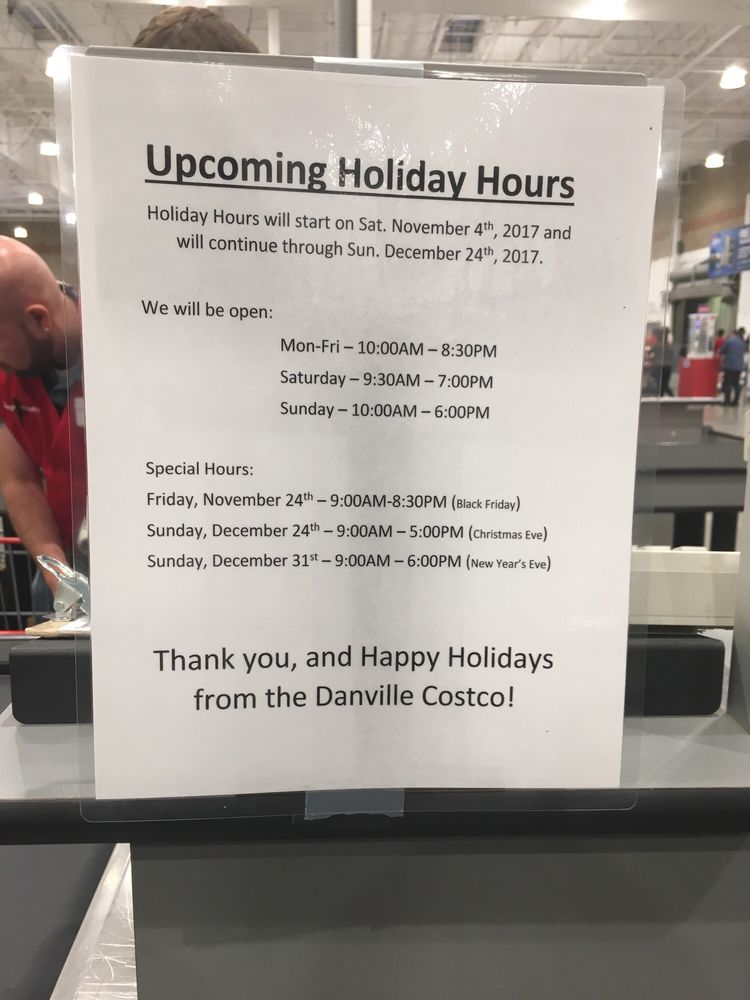 photo of costco danville ca united states 2017 holiday hours - Costco Open Christmas Eve