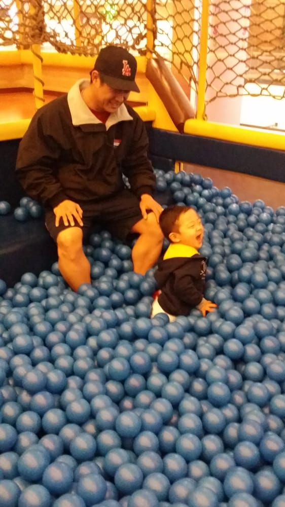 Having a blast in the blue ball pit yelp for Ball pits near me