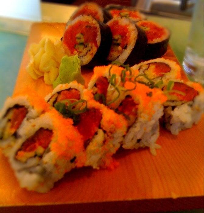 Spicy tuna washington rolls happy hour yelp for Asia sushi bar and asian cuisine mashpee
