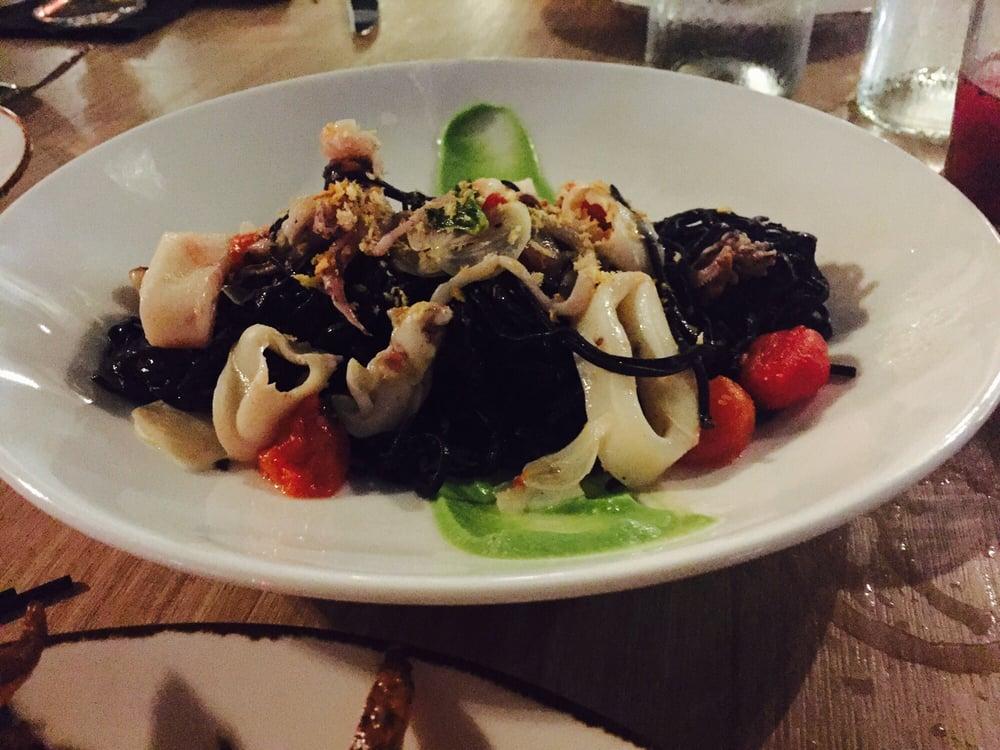 Calamari spaghetti yelp for Jardin west palm