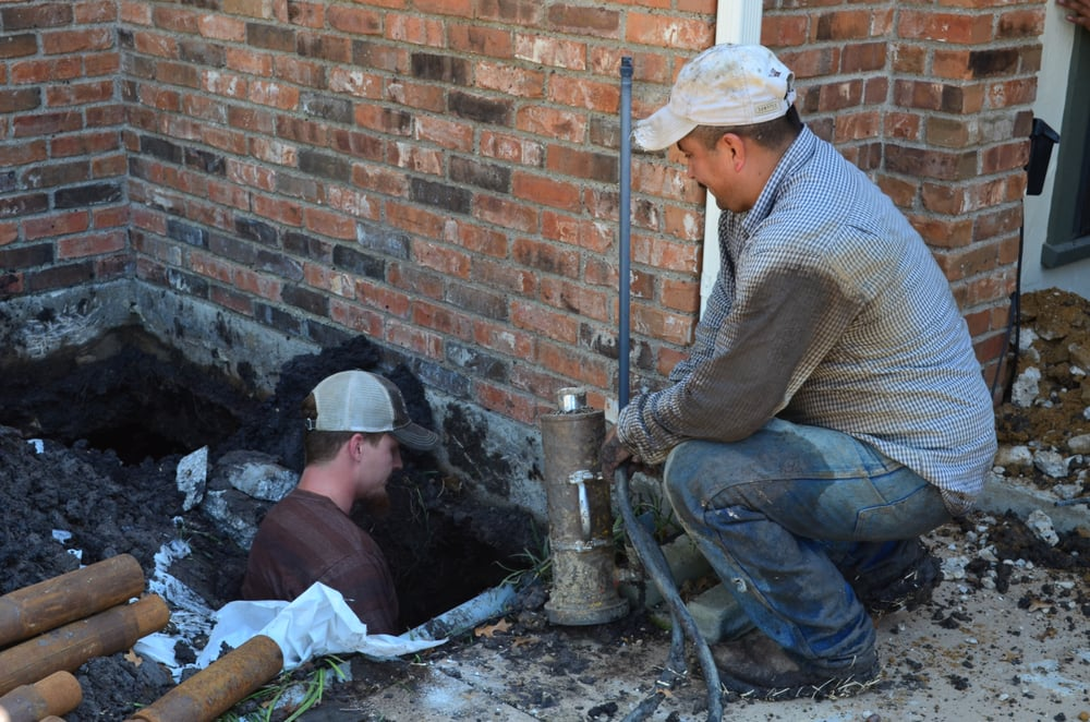 Solid Rock Foundation Repair: 4205 Cross Timber Rd, Burleson, TX