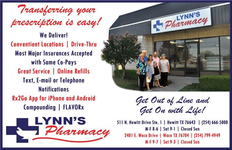 Lynn's Pharmacy Hewitt: 511 N Hewitt Dr, Hewitt, TX
