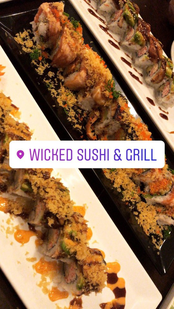 Wicked sushi & grill: 3200 Woodward Crossing Blvd, Buford, GA
