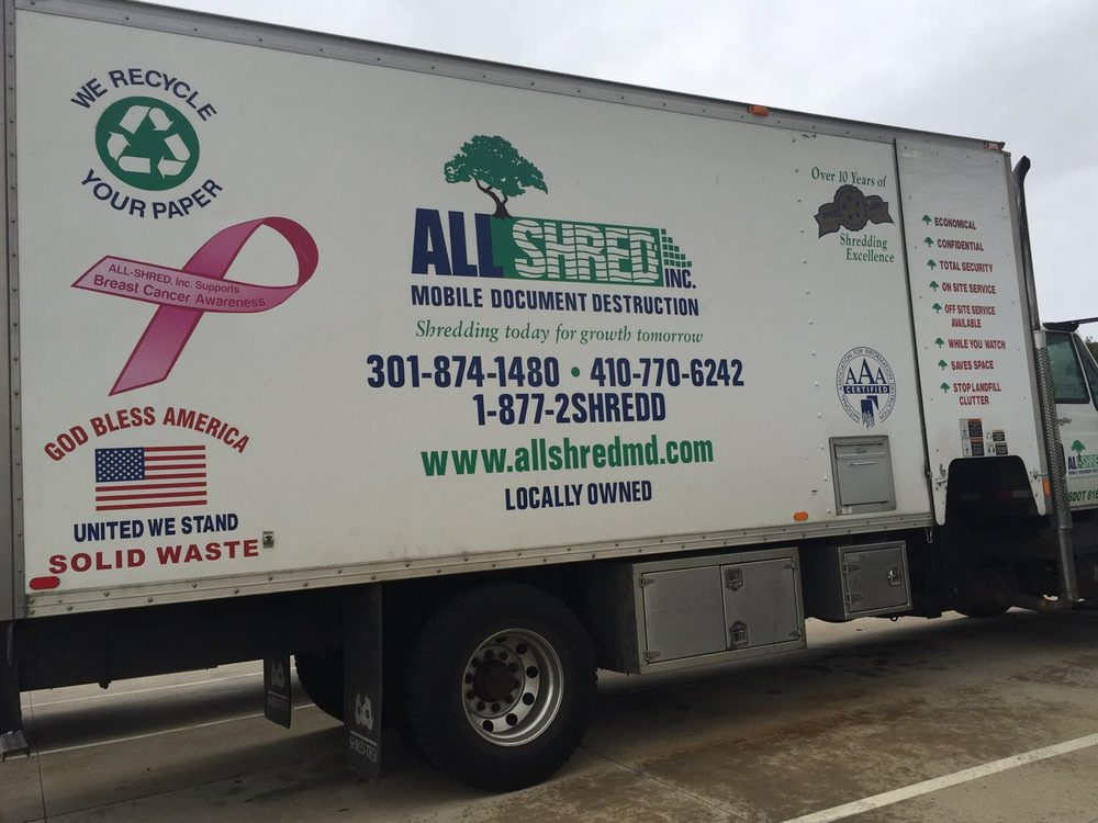 All-Shred: 4831 Winchester Blvd, Frederick, MD