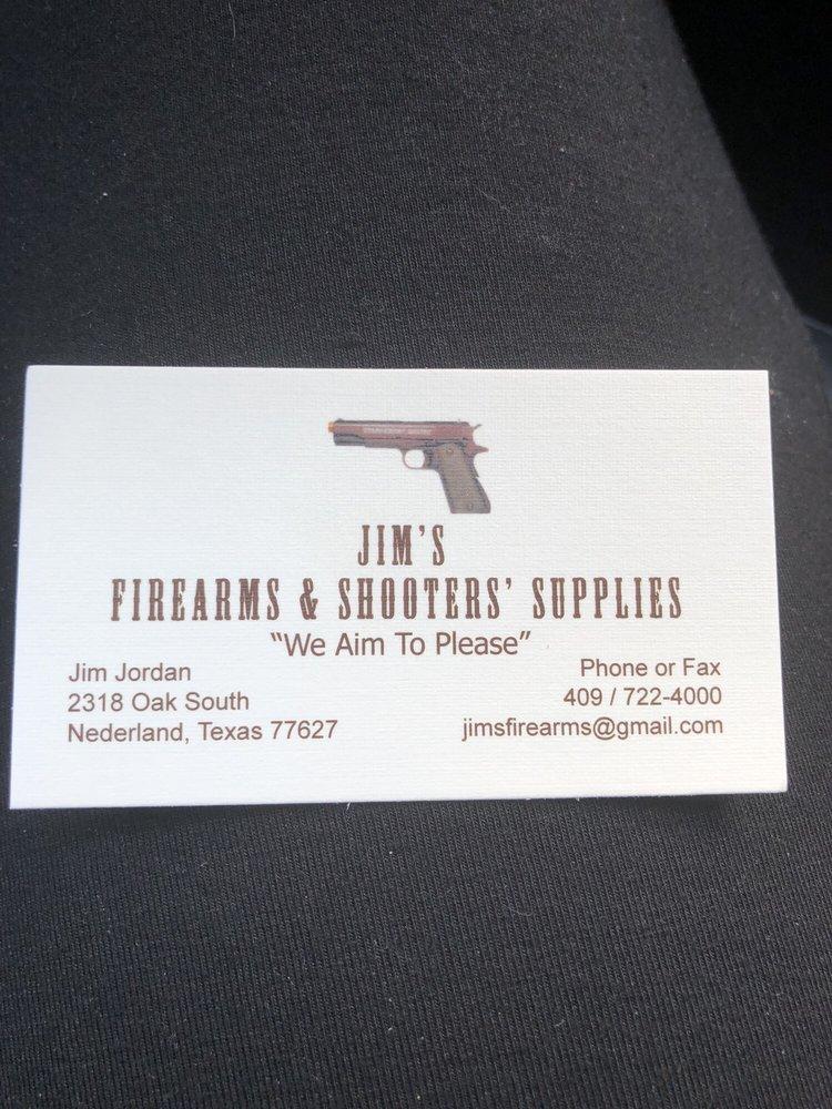 Jim's Firearm & Shooters Supplies: 2318 Oak S, Nederland, TX