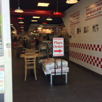 P O Of Five Guys Toronto On Canada Dont Come If