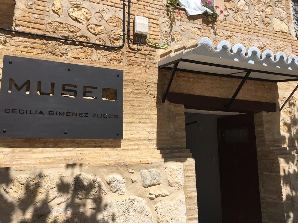 Museo Cecilia Giménez Zueco: Plaza Misericordia Sant Mis 1, Borja, Z