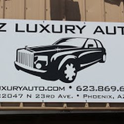 Az Luxury Auto Car Dealers 22047 N 23rd Ave Phoenix Az Phone