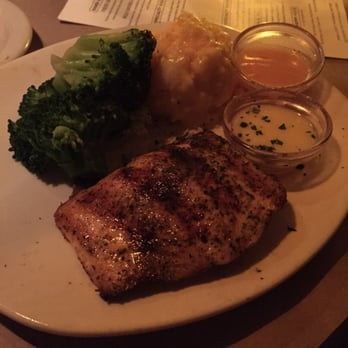 Photo Of Bonefish Grill   Winter Garden, FL, United States. Salmon With  Broccoli