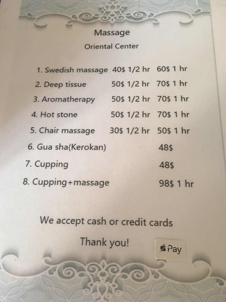 Massage Oriental Center: 1600 N Hwy 190, Covington, LA