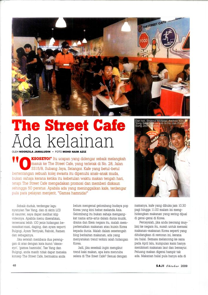 We Were On Saji Magazine Oct 2009 And We Still Remember