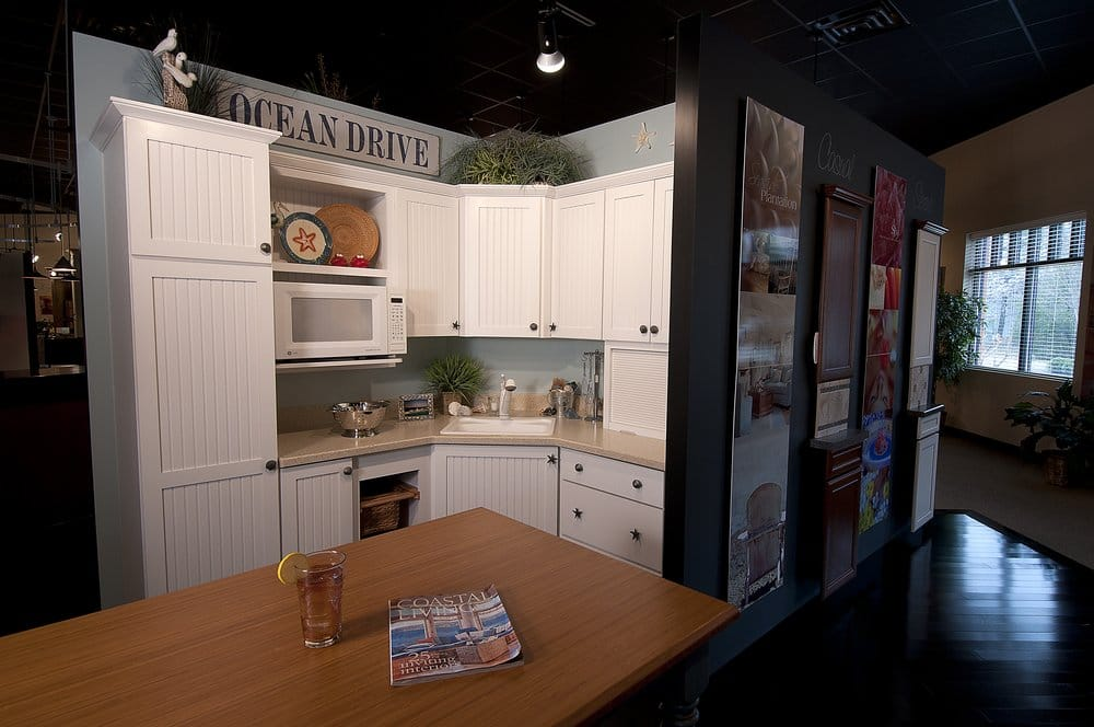 Acc showroom display yelp for Apex kitchen cabinets