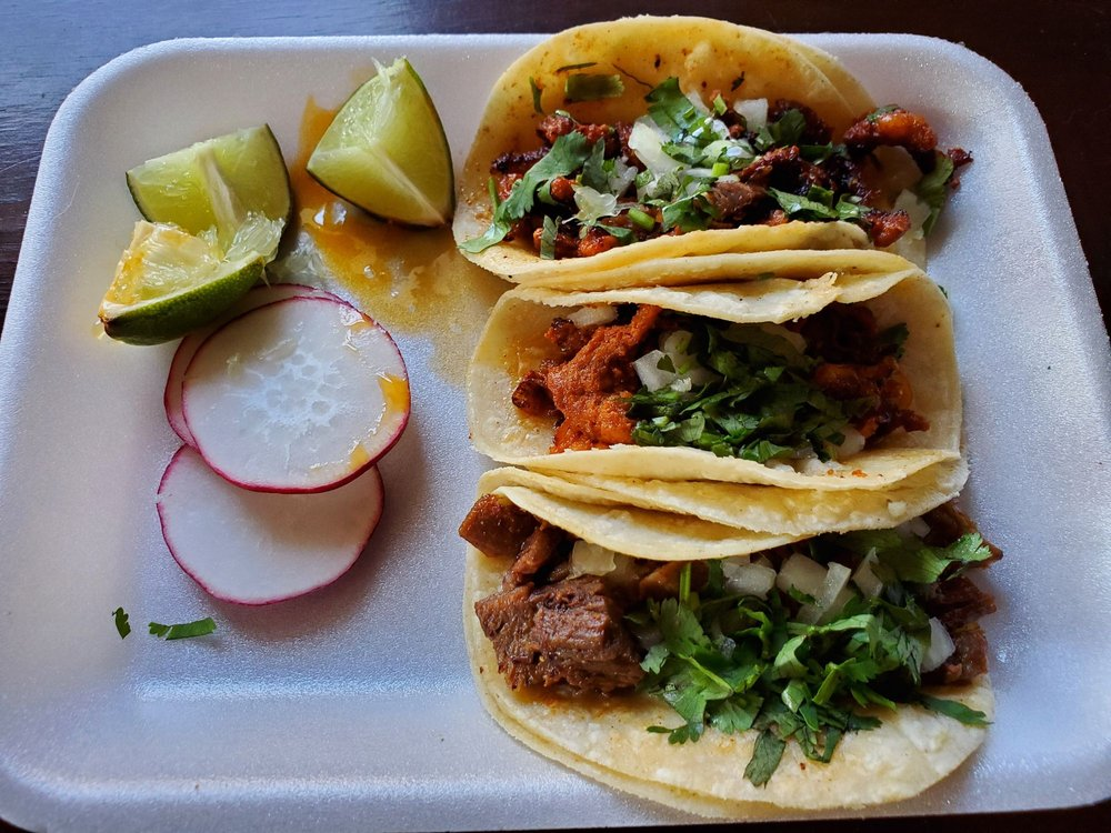 Food from Don Julio's Tacos