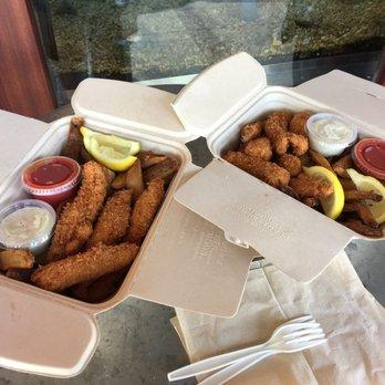 Photo of Hapuku Fish Shop - Oakland, CA, United States. Fish n chips x2