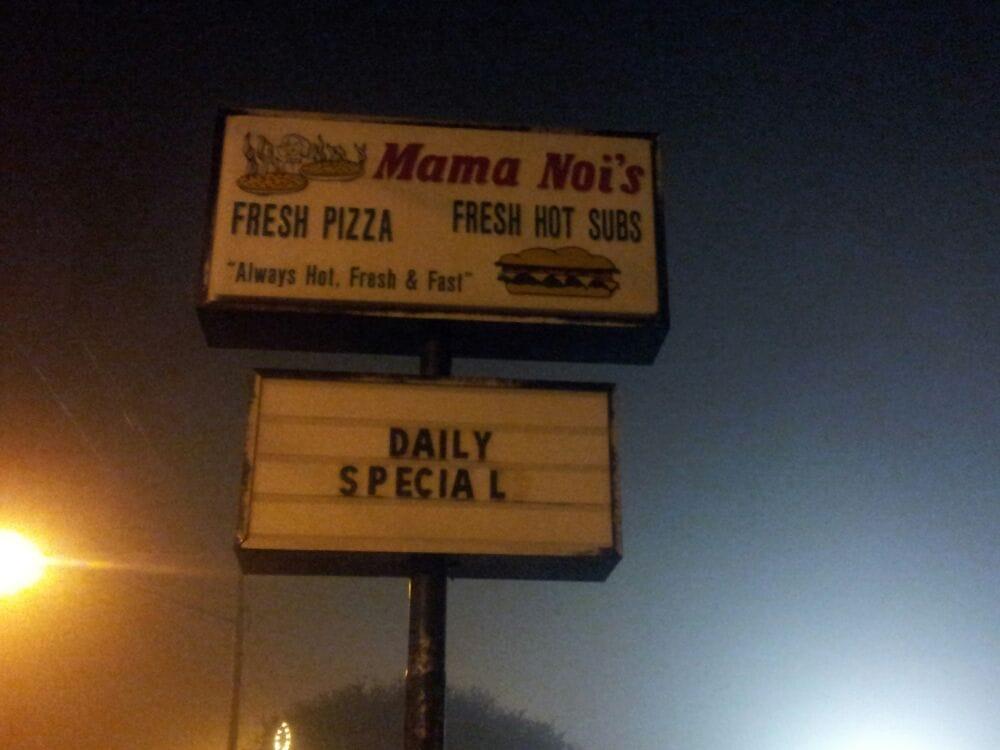 Mama Nois Pizza & Hot Sub: 2076 E Main St, Ellerbe, NC