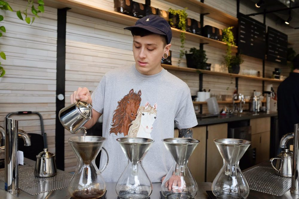 Coava Coffee Roasters: 1171 SW Jefferson St, Portland, OR