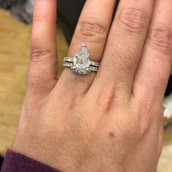 00a6a4bca Photo of Kay Jewelers - Fairfax, VA, United States. Pear diamond