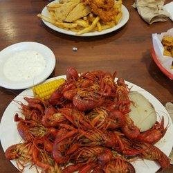 Photo Of Baytown Seafood Restaurant Texas City Tx United States Crawfish Size