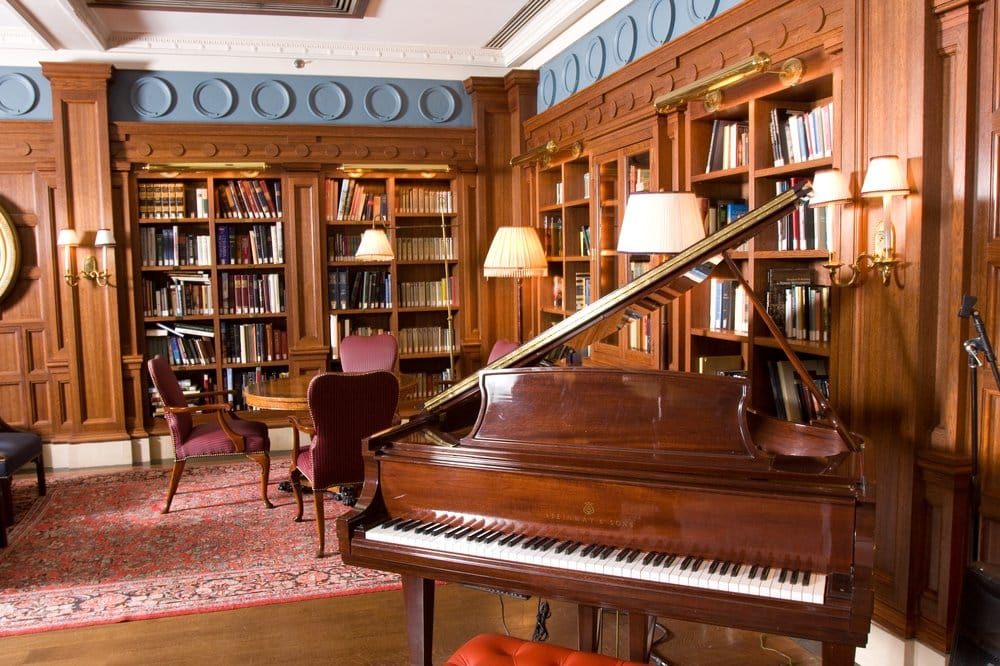 Franklin Living Room Library amp Grand Piano Yelp