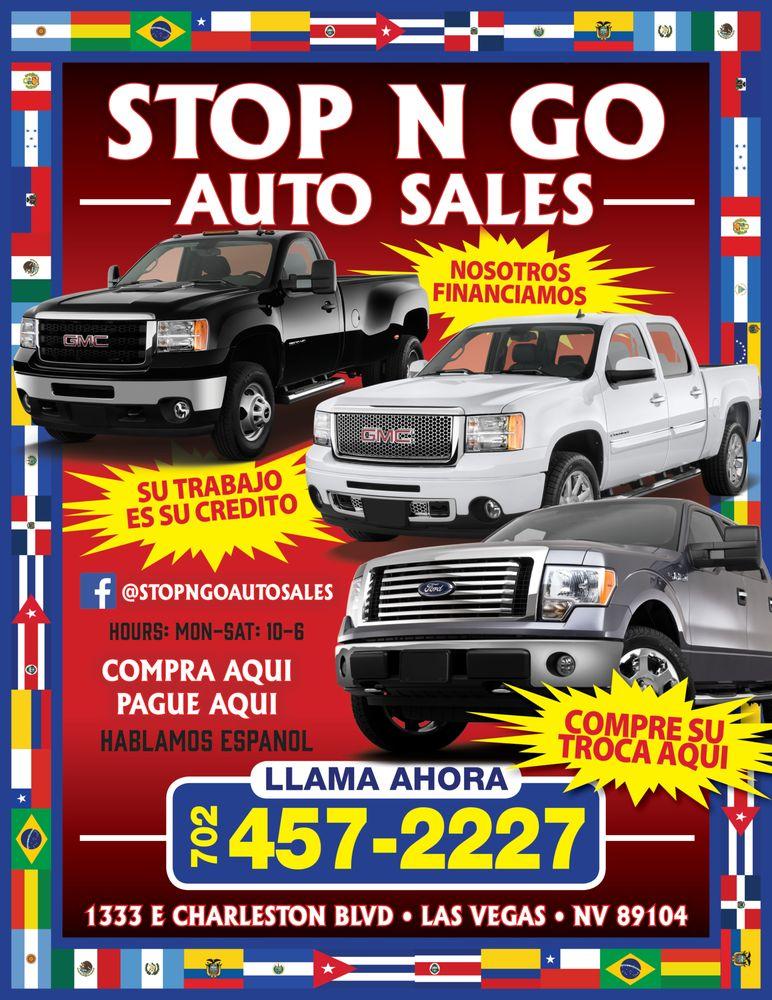 Stop And Go Auto >> Stop N Go Auto Sales 1333 E Charleston Blvd Downtown Las