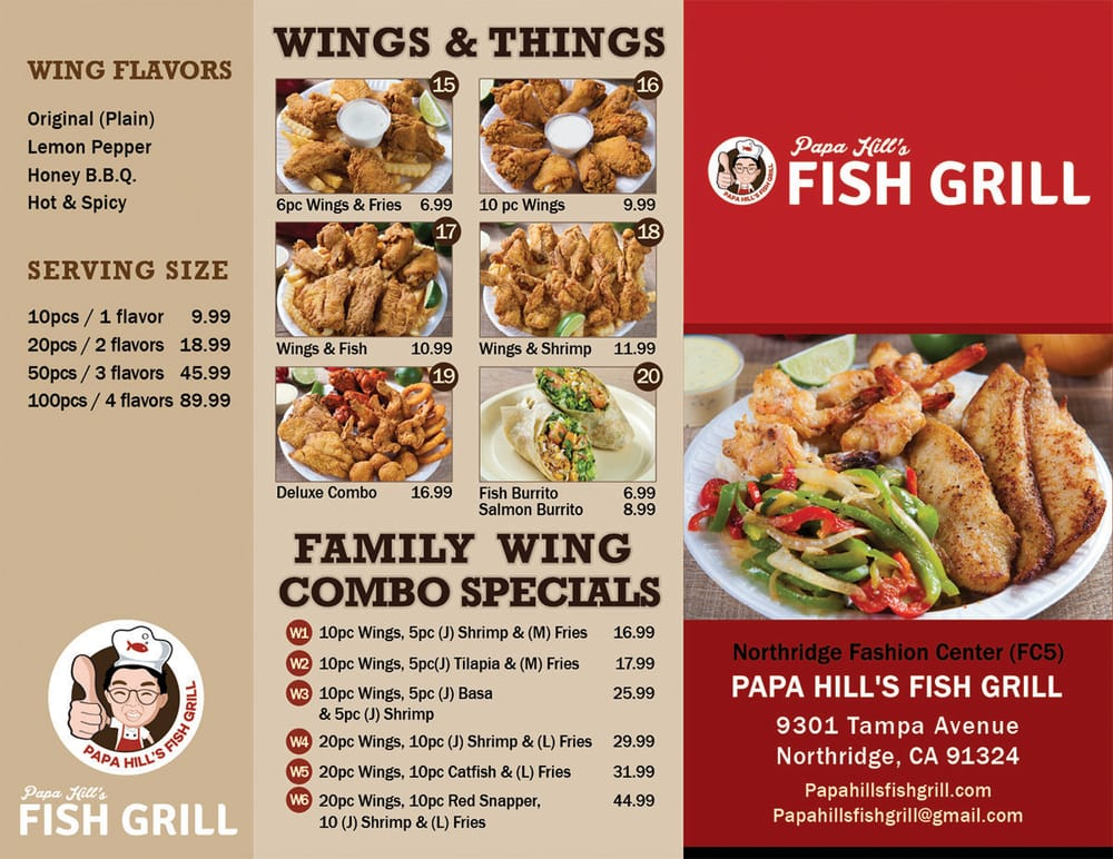 Photos for papa hill 39 s fish grill yelp for Fish grill near me