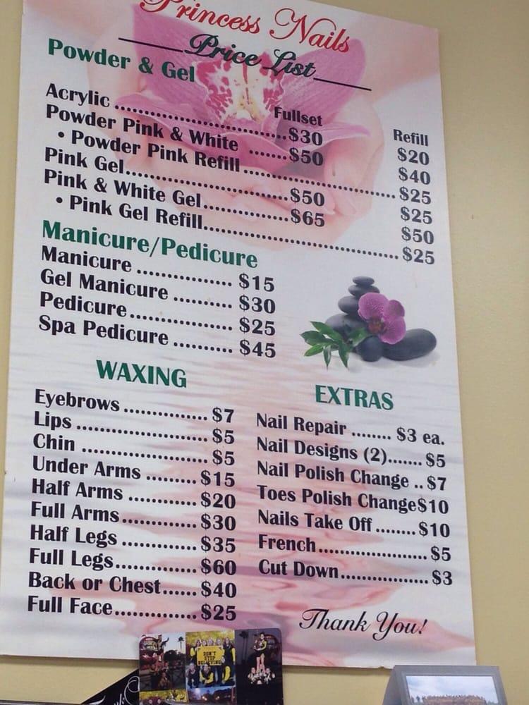 Photo Of Princess Nails Flemington Nj United States Here S A Price List
