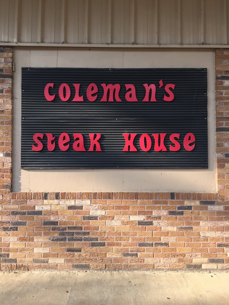 Coleman's Steak House: 1269 Old Hwy 16, Benton, MS