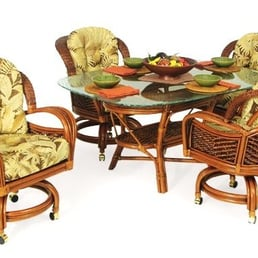 Photo Of Wicker Mart   Columbia, SC, United States. Rattan Dining Sets