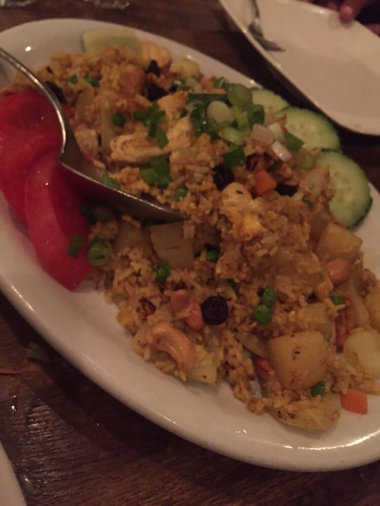 pineapple fried rice yelp