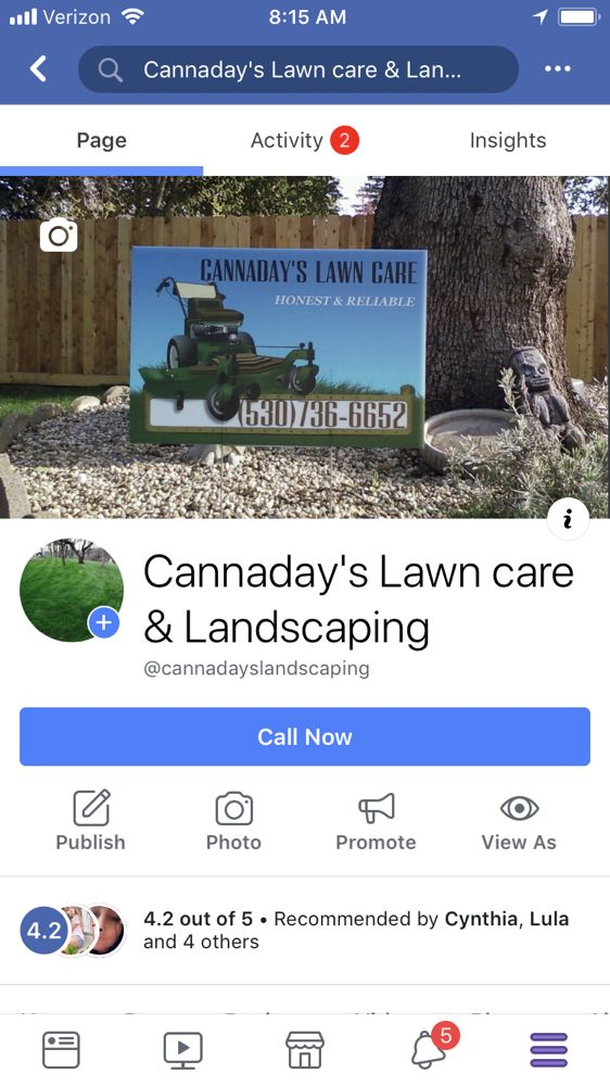 Cannaday's Lawn care & Landscaping: 580 W 2775 S, Nibley, UT