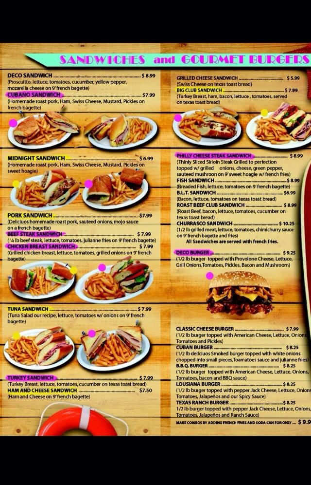 Photo Of Deco Sandwiches Miami Beach Fl United States And