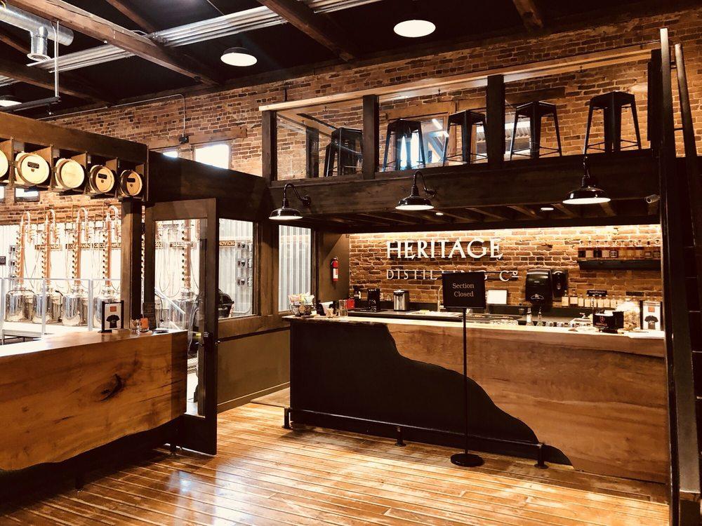 Heritage Distilling Company: 101 E Pennsylvania Ave, Roslyn, WA