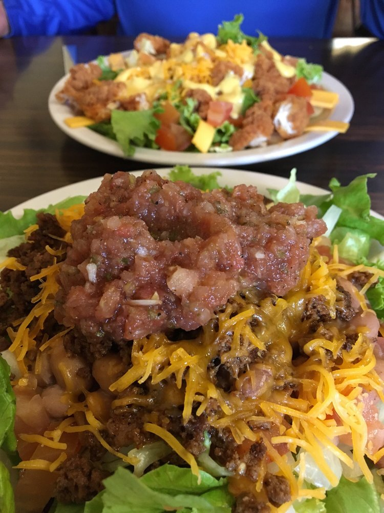 Food from Hill Country Cafe