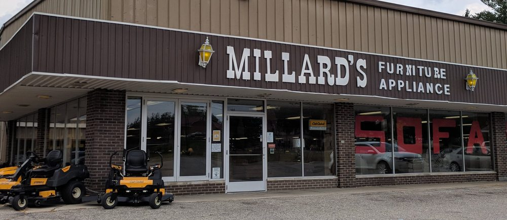 Millard's Furniture & Appliance: 232 W Main St, Stanton, MI