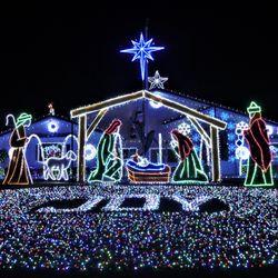 Photo Of Kingman Christmas Lights House  The Prestons   Kingman, AZ, United  States