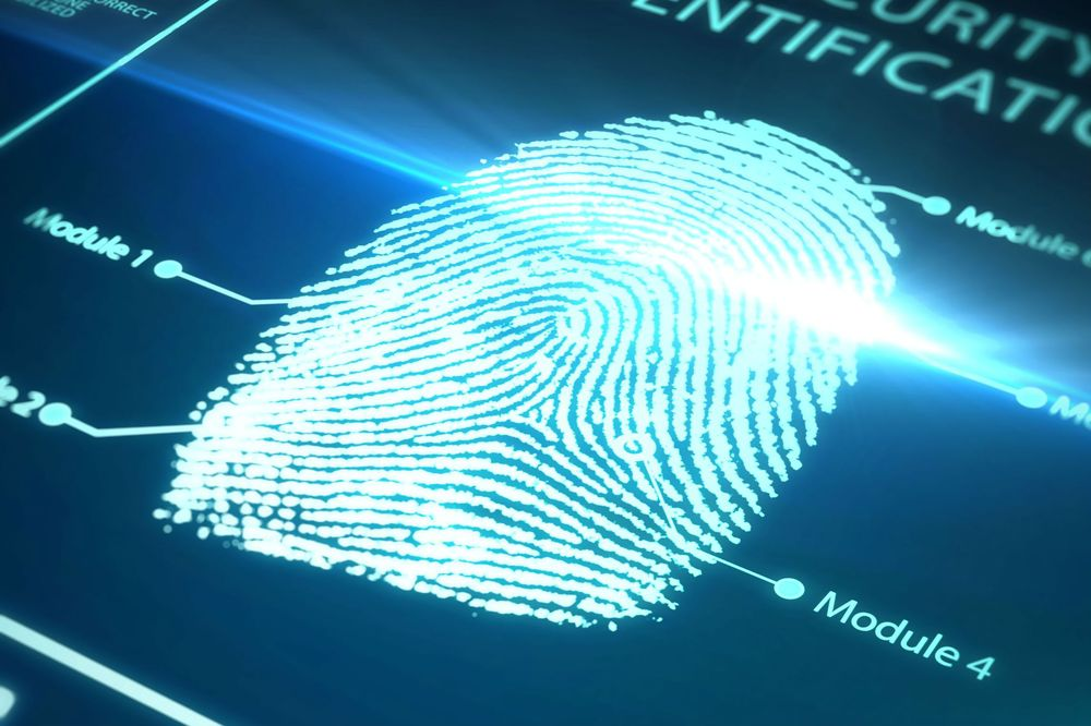 Photo of Biometrics Identity Verification System: Beltsville, MD