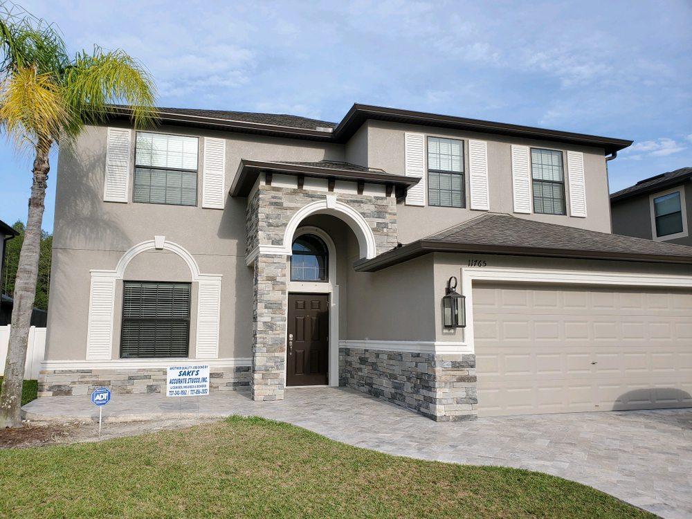 Saki's Accurate Stucco: 14310 Thornwood Trl, Hudson, FL