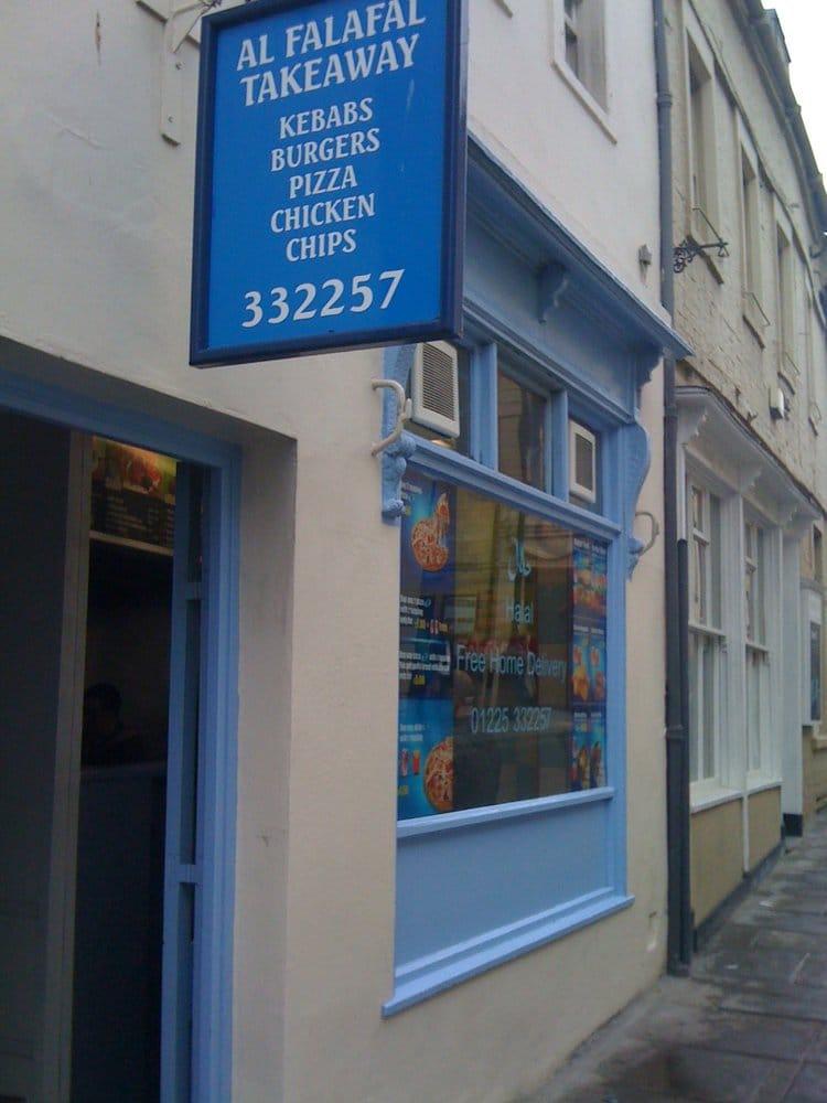 Al Falafel Falafel 3 Monmouth Street Bath Restaurant Reviews Phone N