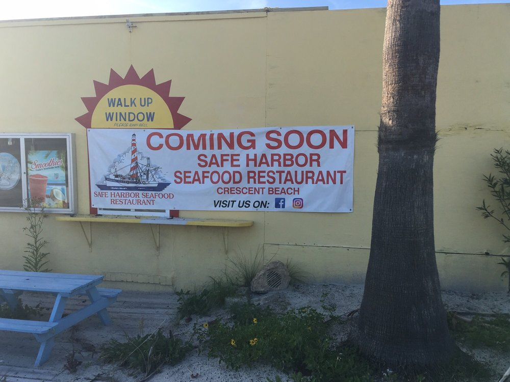 Safe Harbor Seafood: 6896 A1A Beach Blvd, Crescent Beach, FL