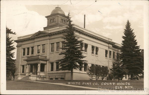White Pine County Courthouse: 801 Clark St, Ely, NV