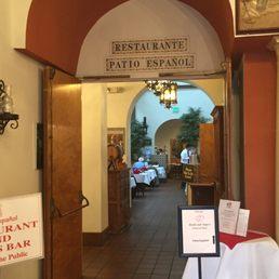 Photo Of Patio Español Restaurant   San Francisco, CA, United States.  Entering The