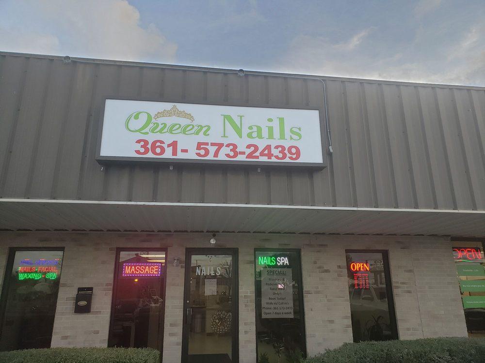 Queen nails: 3708 North Navarro St, Victoria, TX
