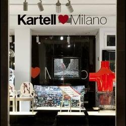 Kartell - Möbel - Via Filippo Turati 5, Moscova, Mailand, Milano ...